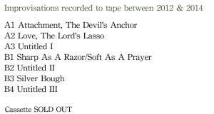 Album Descriptions for website